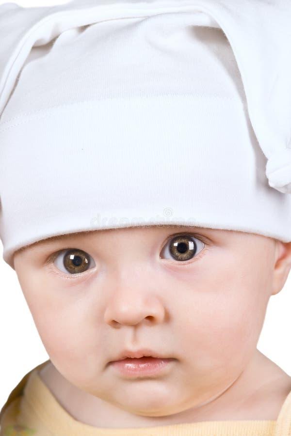 Bebê do retrato foto de stock