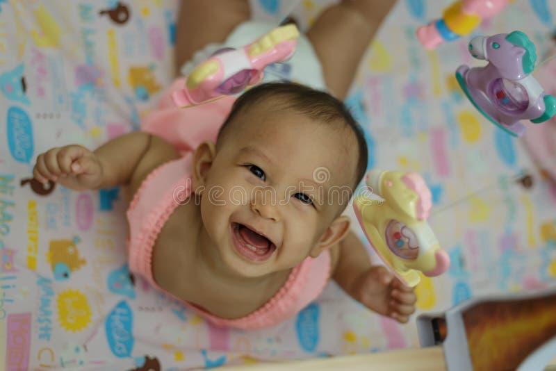 Bebê e brinquedo fotos de stock royalty free