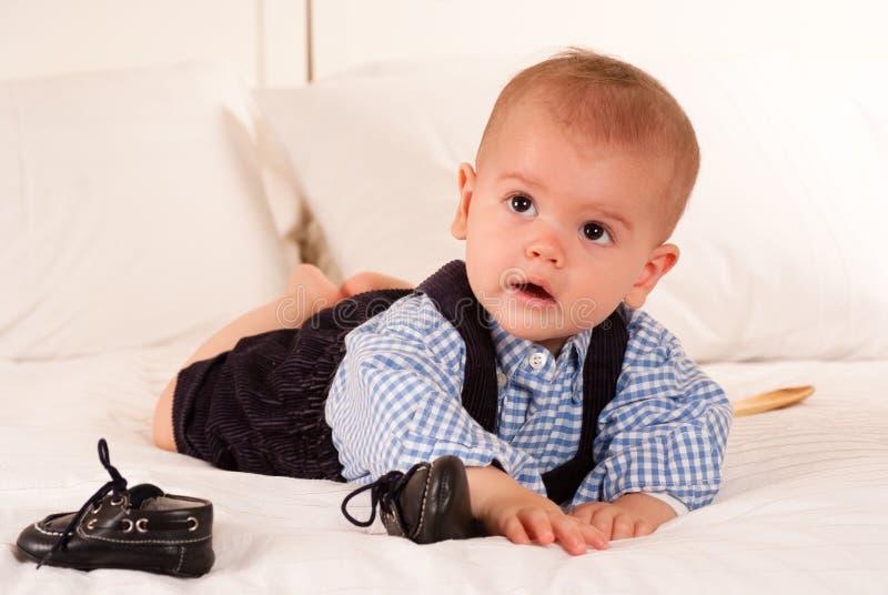 Bebê e sapatas fotos de stock royalty free