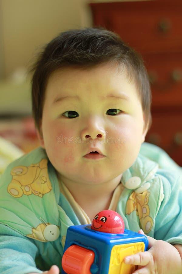 Bebê encantador imagens de stock