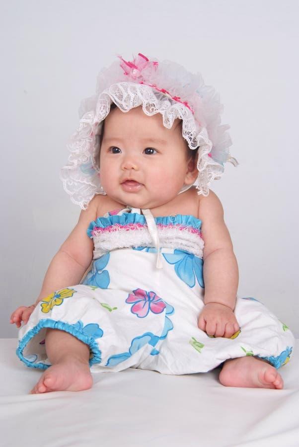 Bebê encantador imagem de stock