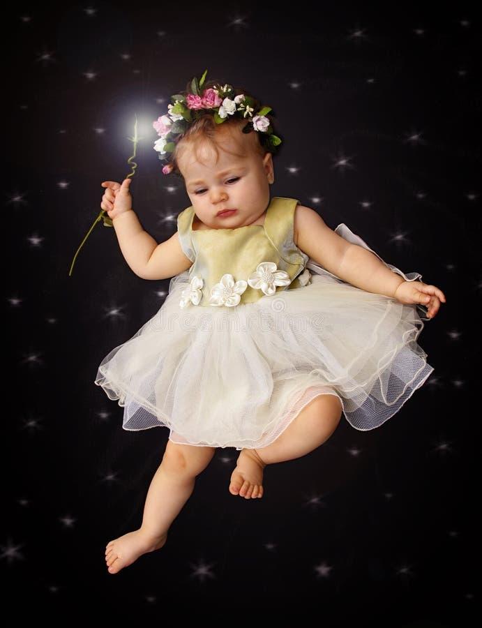 Bebê feericamente foto de stock