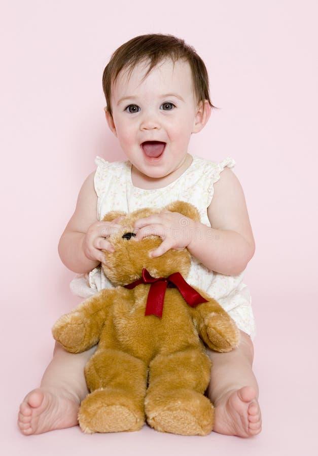 Bebê feliz imagens de stock royalty free