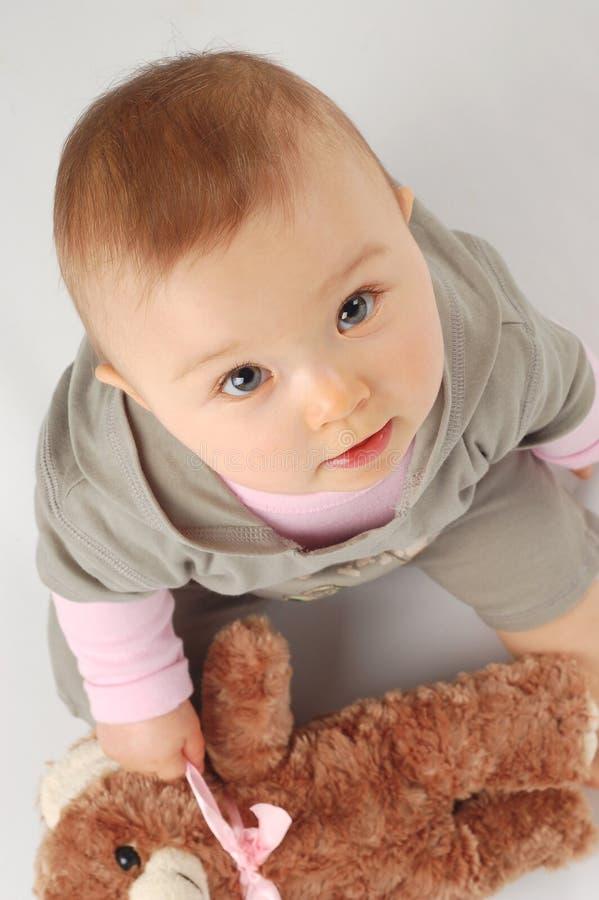Bebê feliz #15 foto de stock