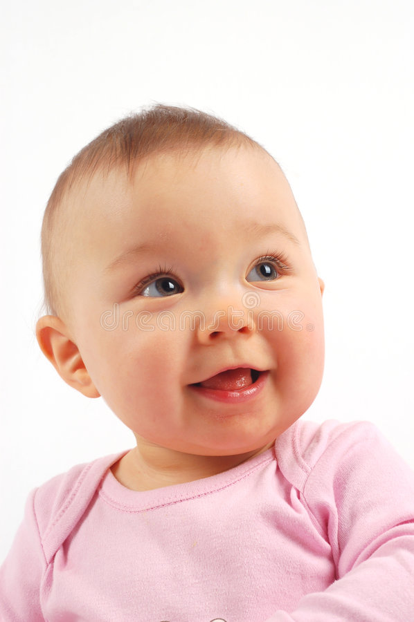 Bebê feliz #21 foto de stock