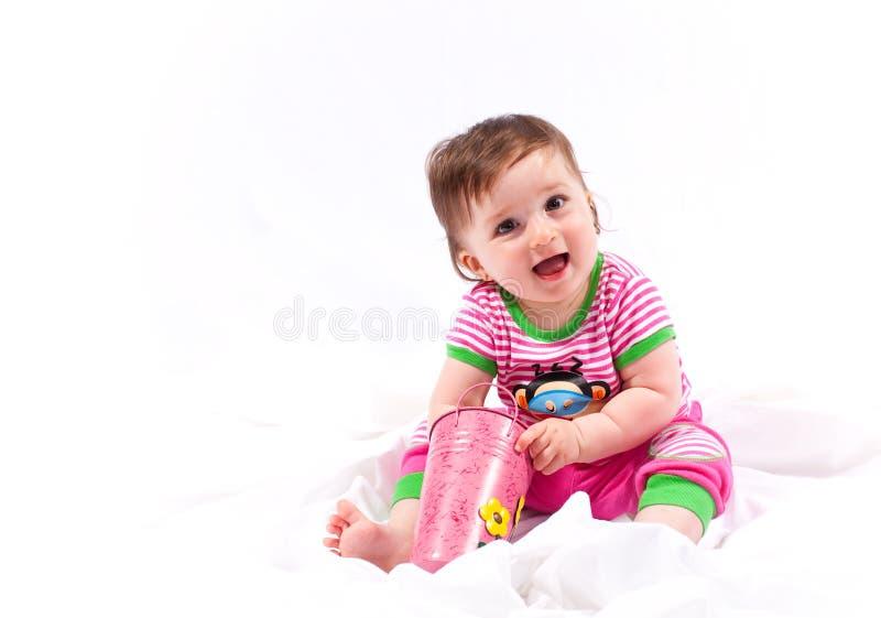 Bebê feliz fotos de stock