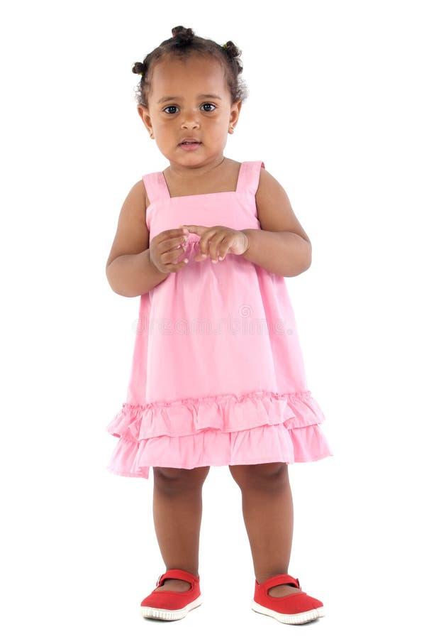Bebê feliz adorável foto de stock