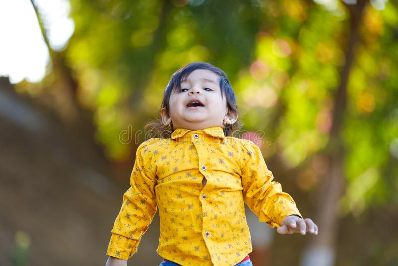 Bebê indiano bonito imagens de stock