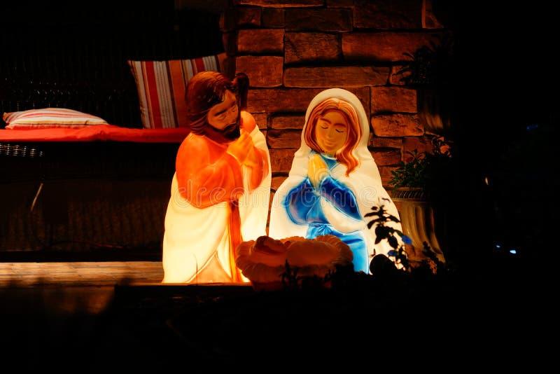 Bebê Jesus foto de stock