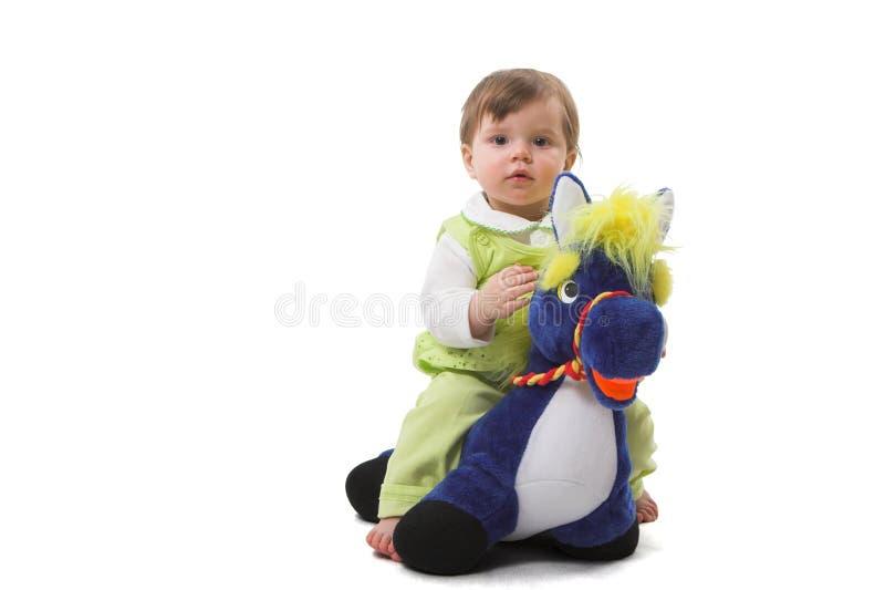 Bebê-menina imagem de stock royalty free