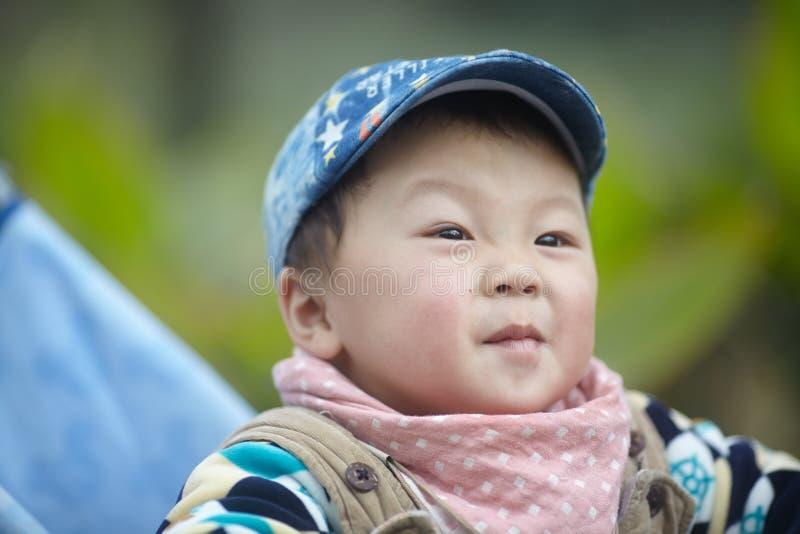 Bebê no carrinho de criança fotos de stock royalty free
