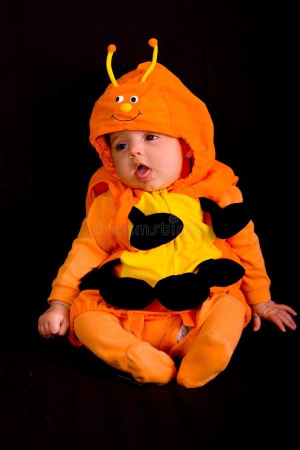 Bebê no traje 2 de Halloween fotos de stock royalty free