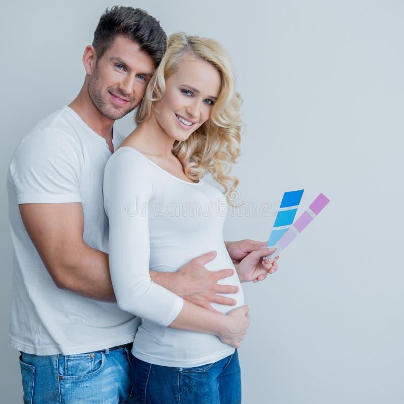 Bebê ou menina fotografia de stock