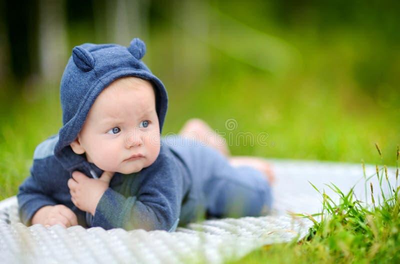 Bebê pequeno doce imagens de stock