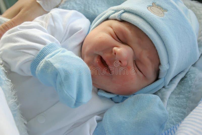 Bebê recém-nascido. fotos de stock royalty free