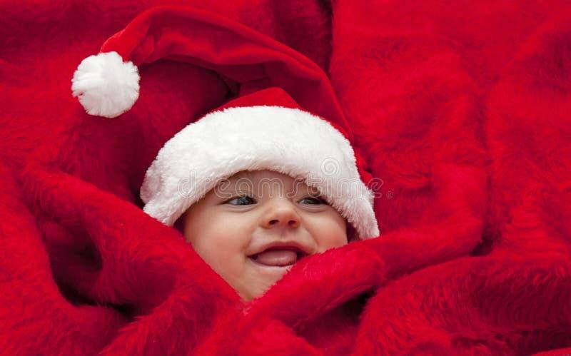 Bebê Santa fotos de stock