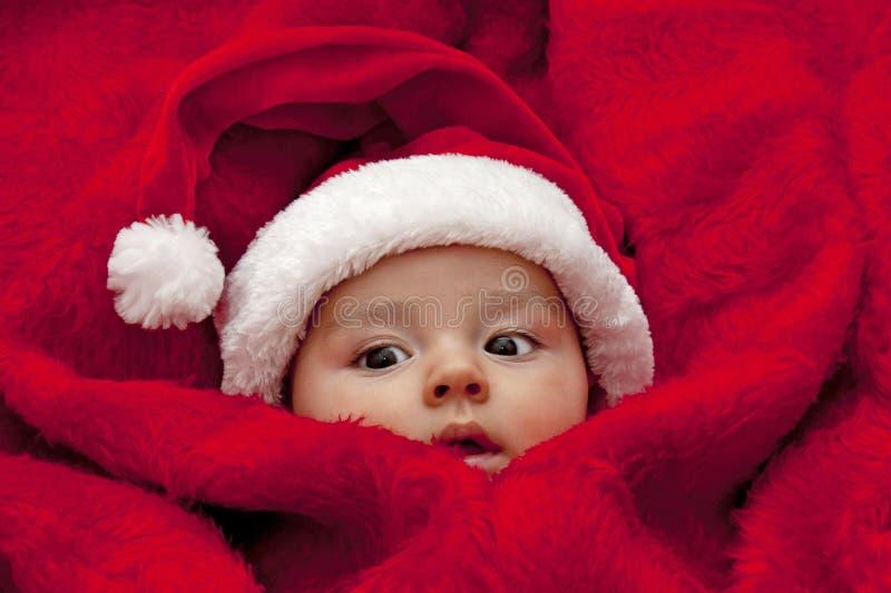 Bebê Santa imagem de stock