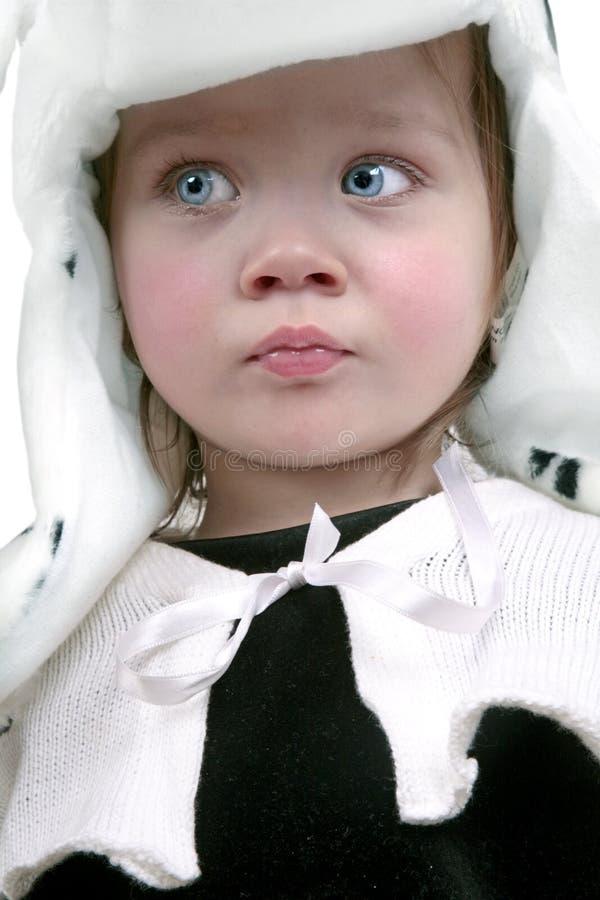 Bebê Scared foto de stock