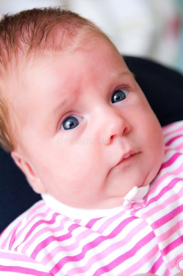 Bebê Startled imagem de stock