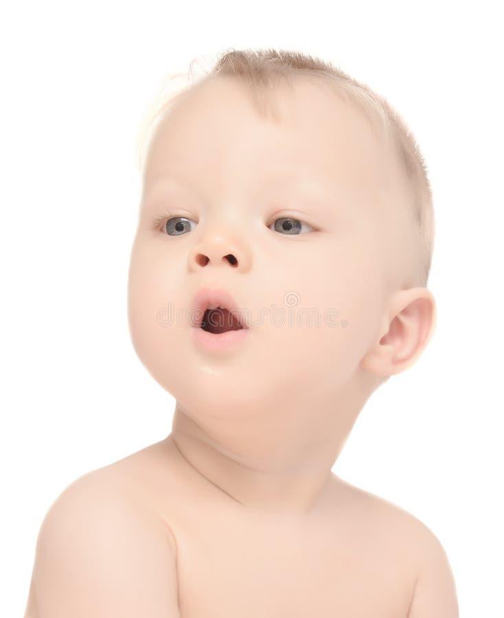 Bebê surpreendido imagem de stock royalty free