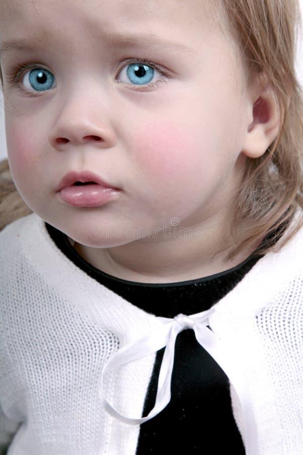 Bebê virado imagens de stock