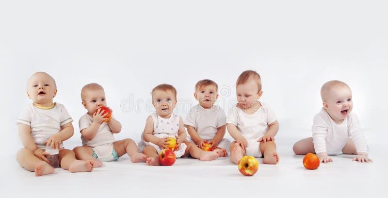 Bebês imagem de stock