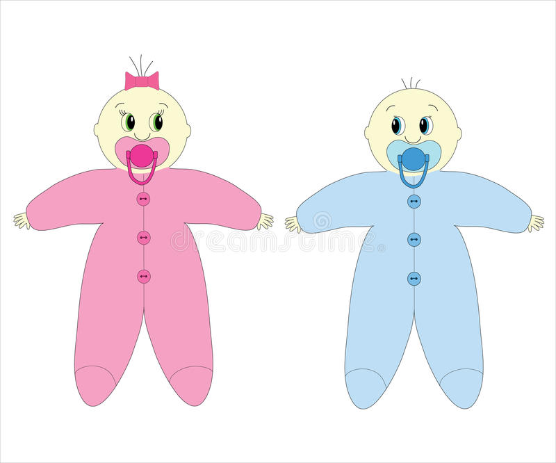 Bebês imagem de stock royalty free