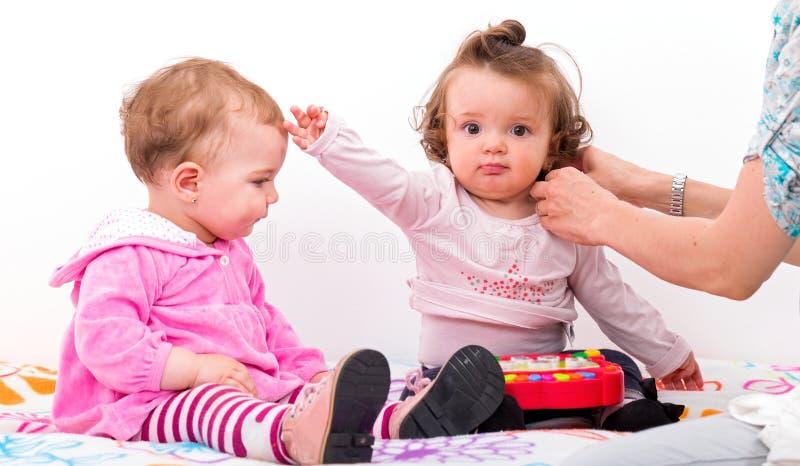 Bebês adoráveis fotos de stock
