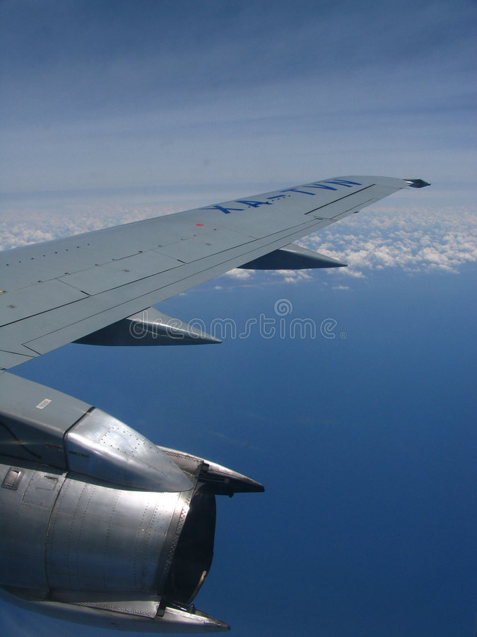 Beba´s Flug lizenzfreies stockbild