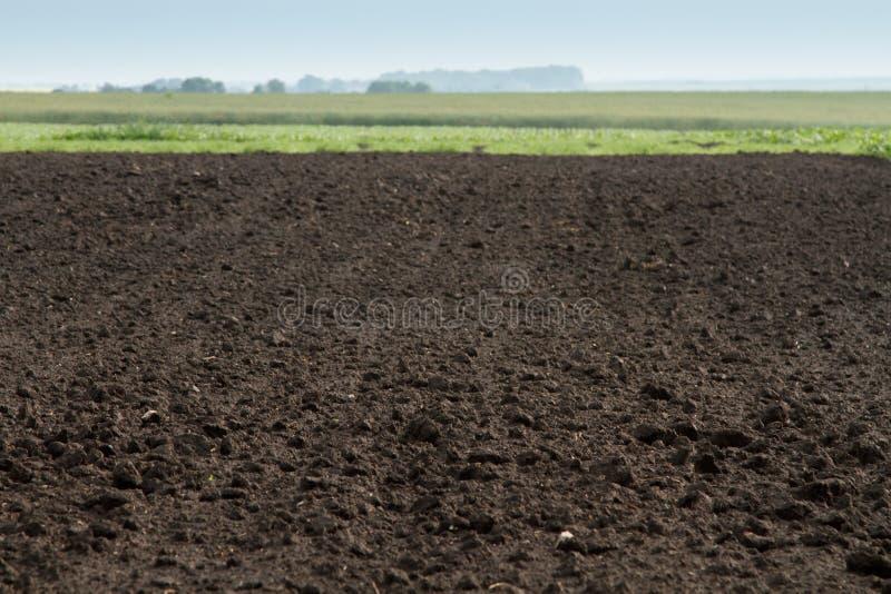Bebautes Land stockfotografie