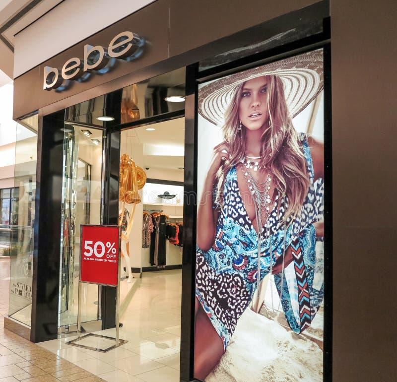 Bebe Store royalty-vrije stock fotografie