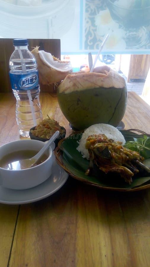 Bebek goreng. By gober bali royalty free stock photos