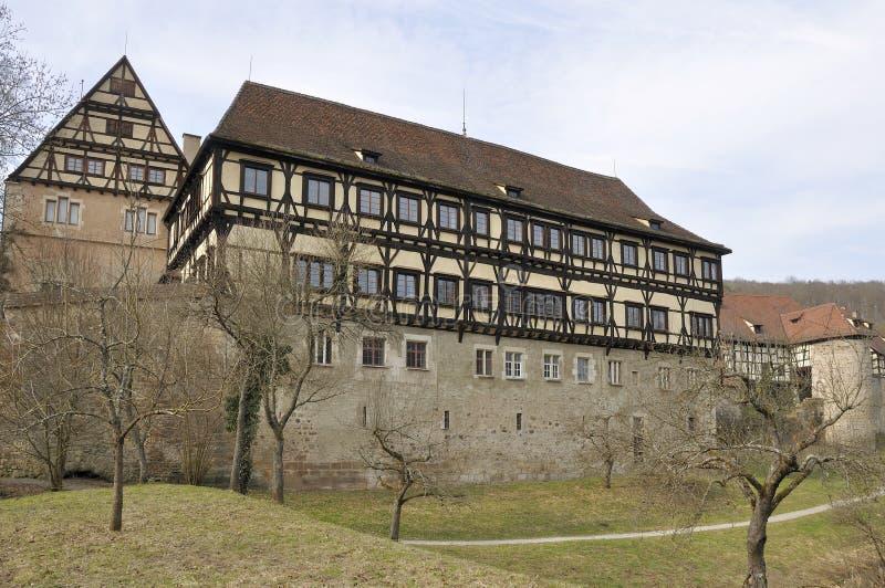 bebenhausen中世纪修道院 库存照片