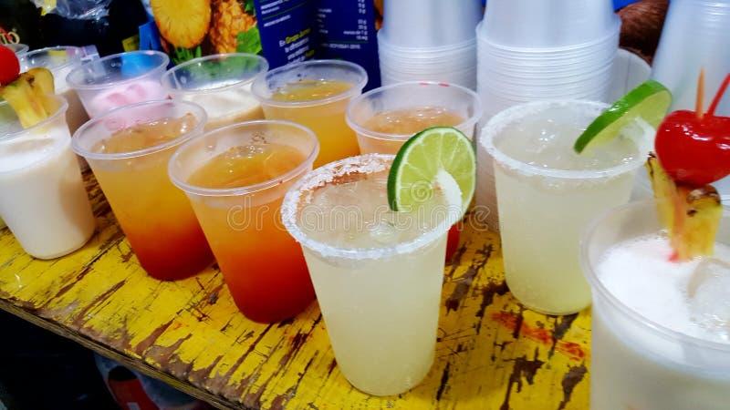Bebida-cócteles fotografía de archivo libre de regalías