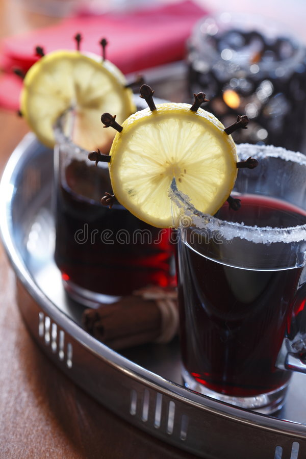 Bebida caliente imagen de archivo