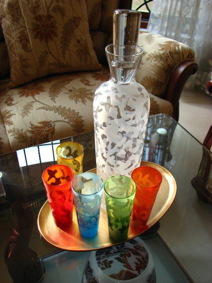 Bebida colorida foto de archivo libre de regalías