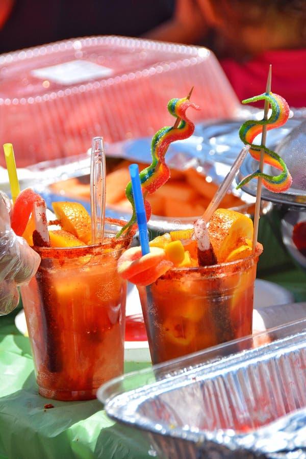 Bebida colorida fotos de archivo