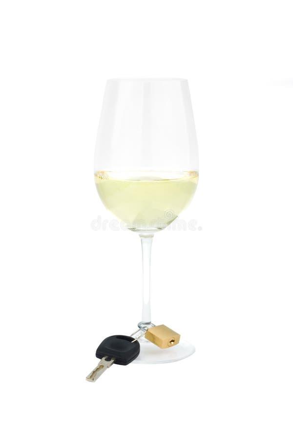 Bebida con seguridad imagen de archivo libre de regalías
