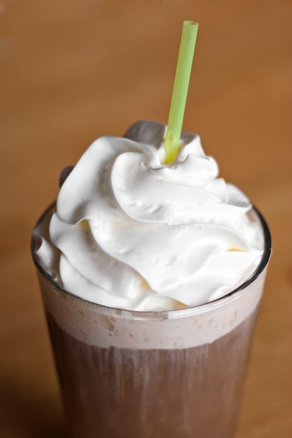 Bebida congelada do café foto de stock