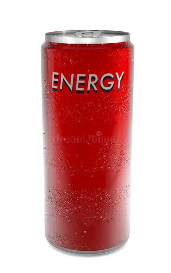 Bebida da energia imagem de stock royalty free
