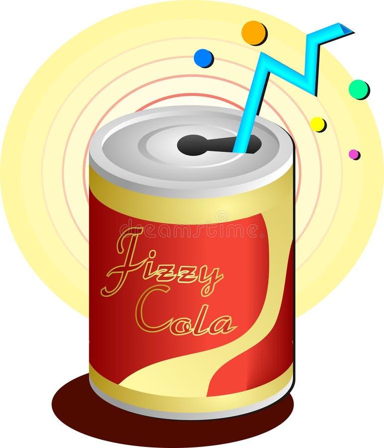 Bebida da soda ilustração stock