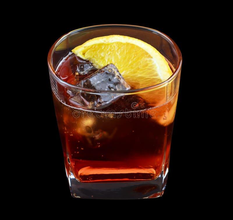 Bebida de Americano imagem de stock