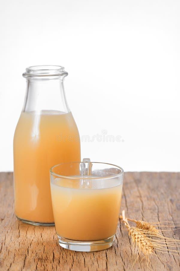 Bebida de Boza imagen de archivo