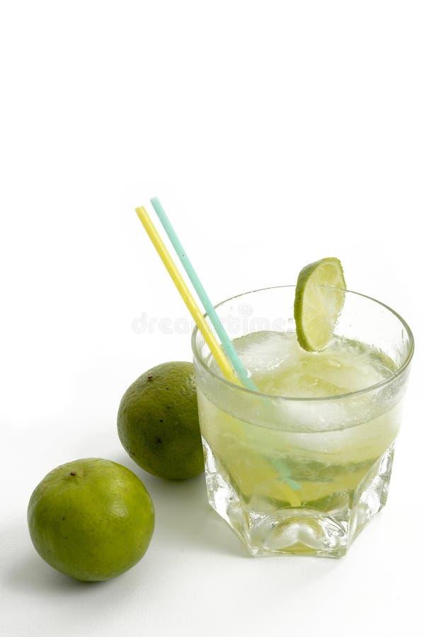 Bebida de Caipirinha fotografía de archivo