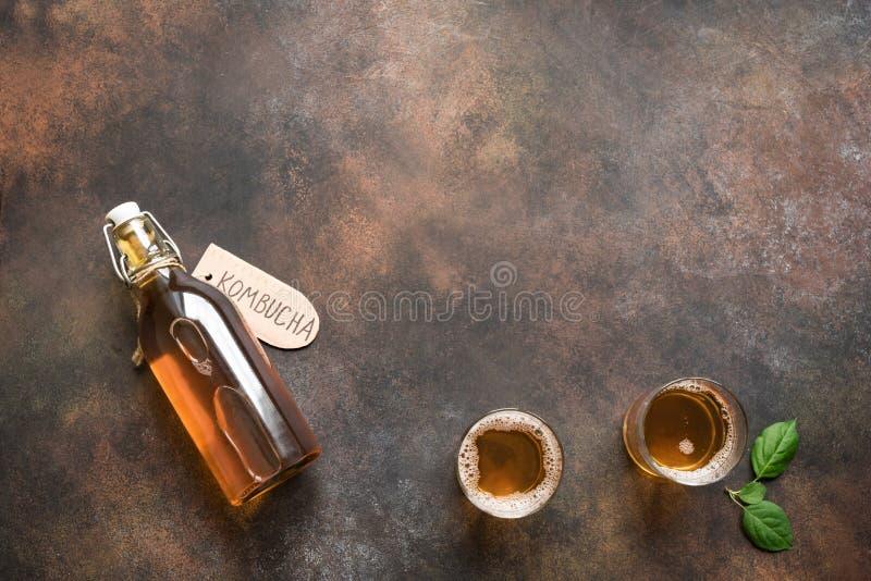 Bebida de Kombucha fotos de stock