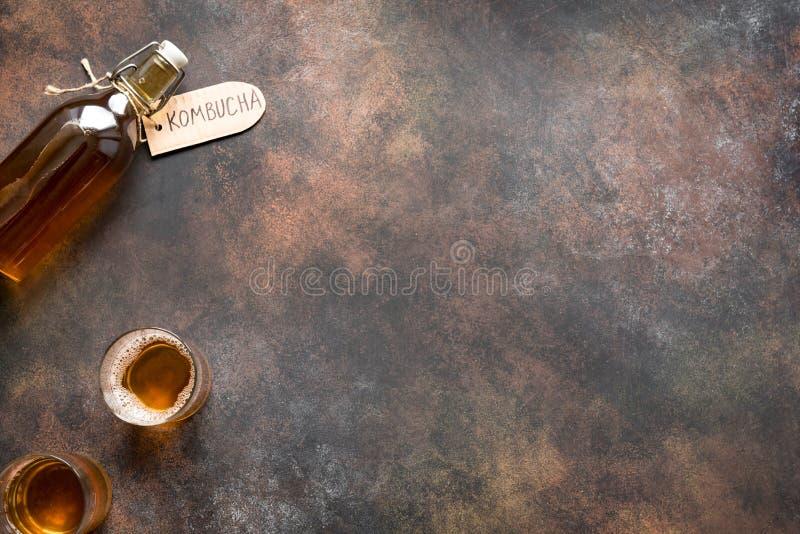Bebida de Kombucha foto de stock royalty free