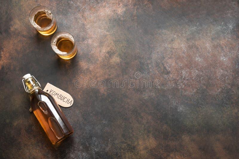 Bebida de Kombucha fotografia de stock royalty free