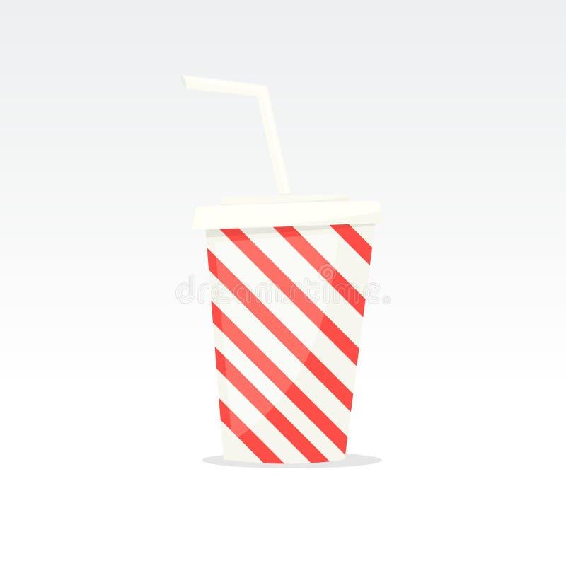 Bebida de la fuente de soda libre illustration
