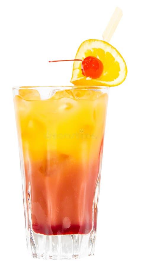 Bebida de la salida del sol del Tequila imagen de archivo