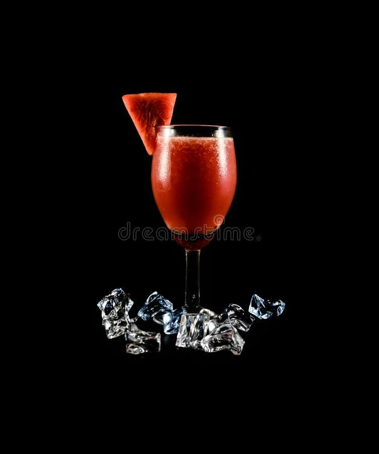 Bebida de la sandía fotografía de archivo libre de regalías